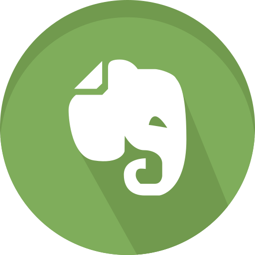 evernote, logos, logotype, media, social icon