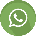 logo, media, message, network, social, whatsapp icon