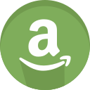 amazon, logo, logotype, symbols icon