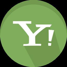 internet, logo, logotype, services, symbols, web, yahoo icon