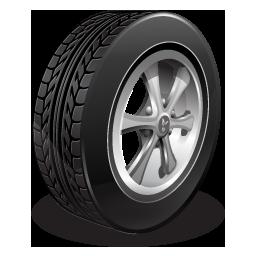 tire, tyre, wheel icon