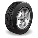 tire, tyre, wheel icon