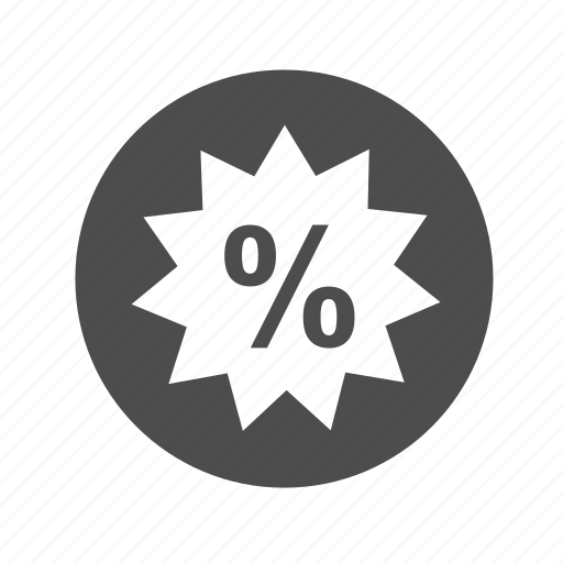 descuento, discount, finance, offer, online, price, shopping icon