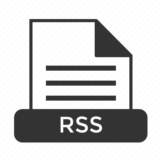File, format, rss icon - Download on Iconfinder