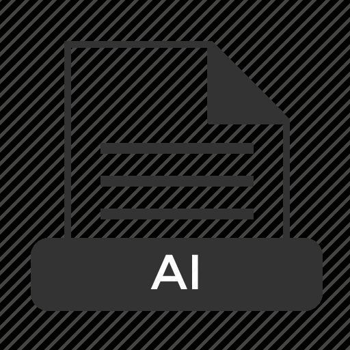 adobe, file, illustrator, tool icon