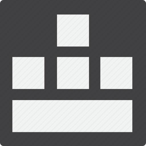 footer, grid icon