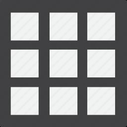 full, grid icon