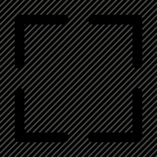 arrow, direction, expand, fullscreen icon