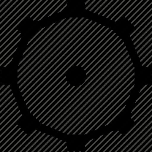 complex, curve, dots, figure, form, geometry icon