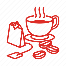 cafe, coffee, cup, drink, food, groceries, tea icon