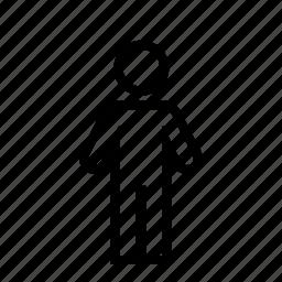 figure, line, man, me, person, user icon