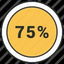 seventy five icon