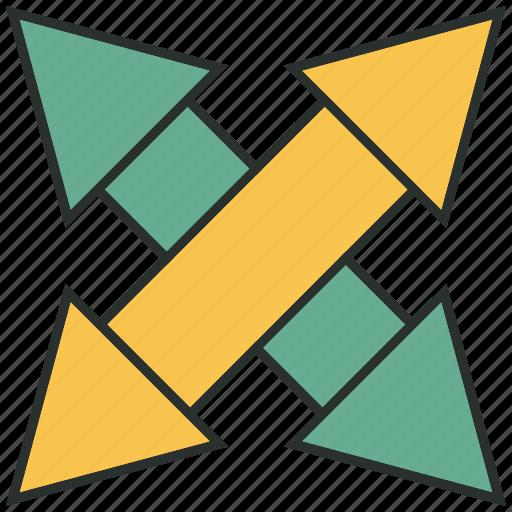 analytics, chart, graph, left, right, statistics icon