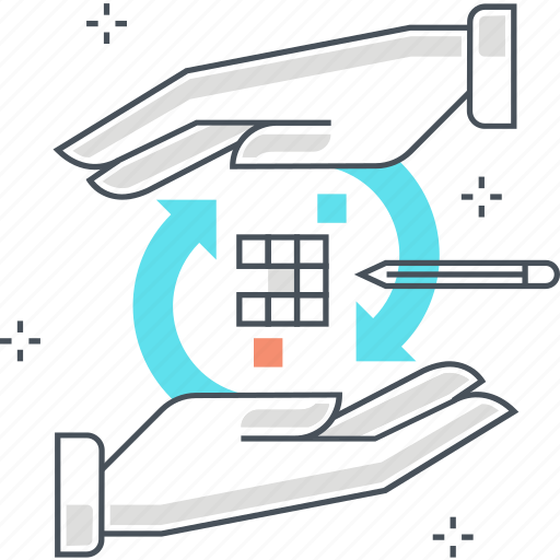 integration, optimization, problem, puzzle, solving icon