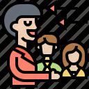 acquisition, attraction, customer, retention, strategy icon