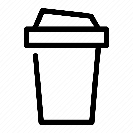 beverage, bottled, coffee, drink, plastic icon