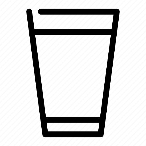 beverage, cup, drink, glass, water icon