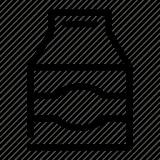 box, carton, dairy, milk, product icon
