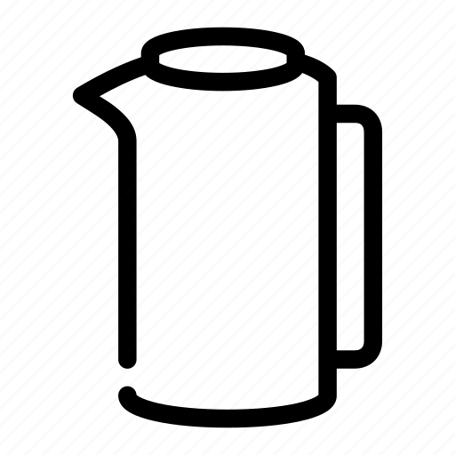 beverage, container, drink, pitcher, water icon