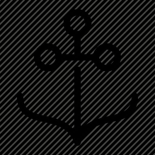 anchor, sail, sailor, ship, shipment icon