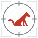 animal, cat, friend, home, hunting, pet, shoot icon