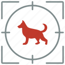 animal, collie, dog, hunting, pet, shoot icon