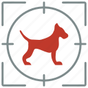 animal, dog, hunter, hunting, pet, shoot icon