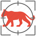 animal, cat, child, hunter, lion, wild icon