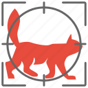 animal, cat, home, hunter, kitty, pet icon