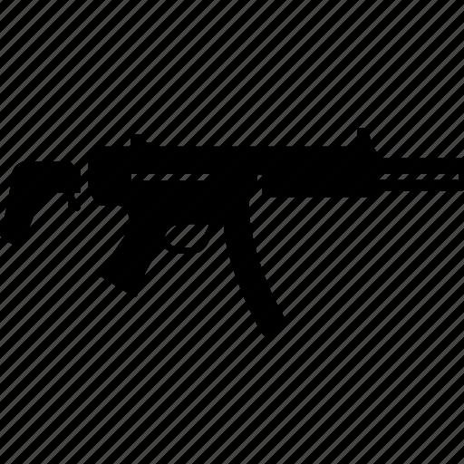 aka, gun, military, mp5, rifle, submachine, war icon