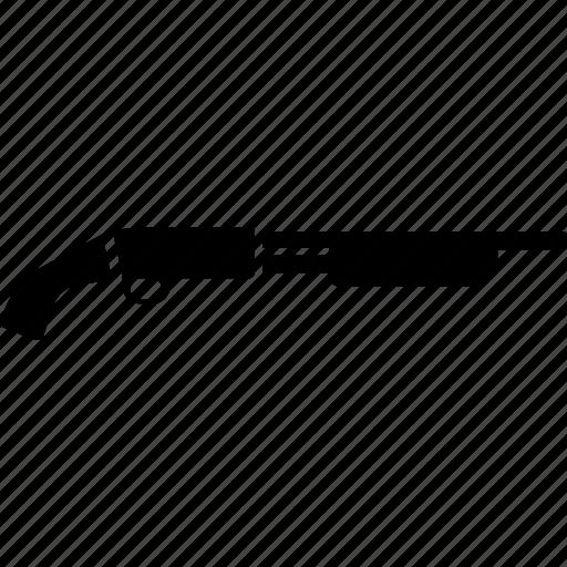 automatic, gun, shotgun, terrorist, war, weapon icon