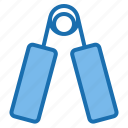 exercise, expander, fit, fitness, gym, sport, workout icon
