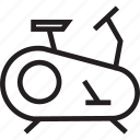 bicycle, bike, gym, stationary bicycle icon