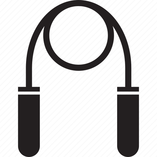 fitness, gym, jump rope, jumprope icon