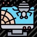 bug, software, security, error, digital