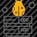 web, sever, bug icon