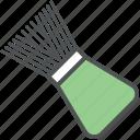 barber brush, hair salon, neck brush, shave, shave brush, shaving brush icon