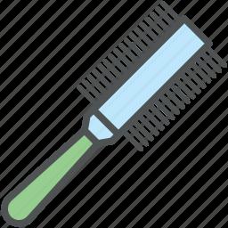brush, hair brush, hair salon, hair style, radial brush, round brush, vented brush icon