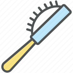 brush, hair brush, hair salon, hair style, radial brush, spinning brush, vented brush icon