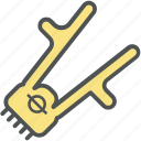 cutting, hand shaving, hand trimmer, shaving machine, shaving tool icon