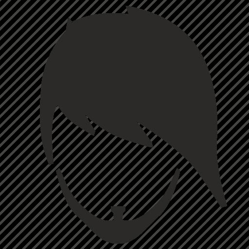 gothic, hair, man, style icon