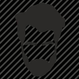 hair, head, man, style, terrorist icon