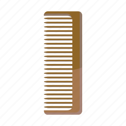 care, cartoon, comb, hair, hairbrush, hairstyle, wooden icon
