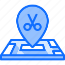 barber, barbershop, hair, hairstyle, lacation, map, pin