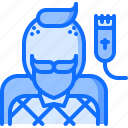 barber, barbershop, hair, hairstyle, man, shaving icon