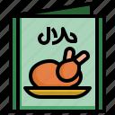 chicken, menu, eat, meat, restaurant, food