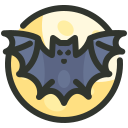 bat, danger, halloween, horror icon