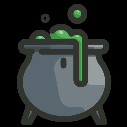 Cauldron, halloween, pot, potion, witch icon - Free download