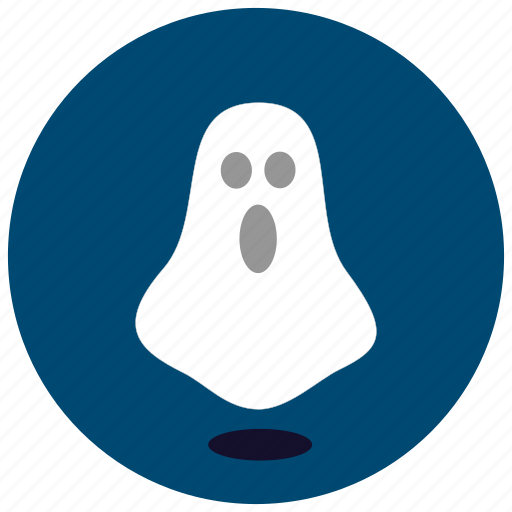 floating, ghost, halloween, scary, shadow, sheet icon