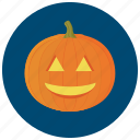 carve, decoration, halloween, lit, pumpkin, smile icon